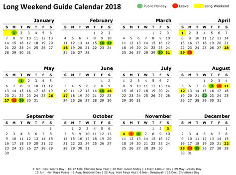 new year dates 2018 singapore singapore weekend getaway guide 2018 sheet