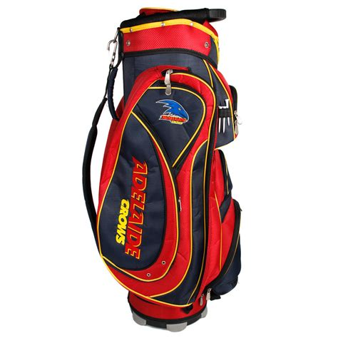 Golf Standbag Golf Pgf afl adelaide crows cart style golf bag sportitude