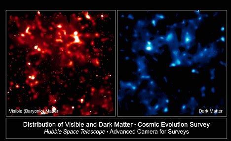 dim and distant past: scientists sight 'dark dwarf' galaxy