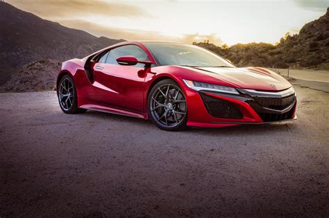 Acura Nsx 2017 Acura Nsx On The Road And The Track Pictures Roadshow