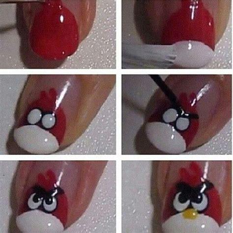 nail art bird tutorial angry birds nail art tutorial are you gelish