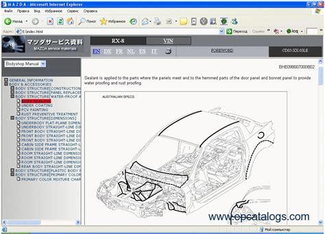 manual repair autos 1993 mazda b series head up display service manual online car repair manuals free 1993 mazda