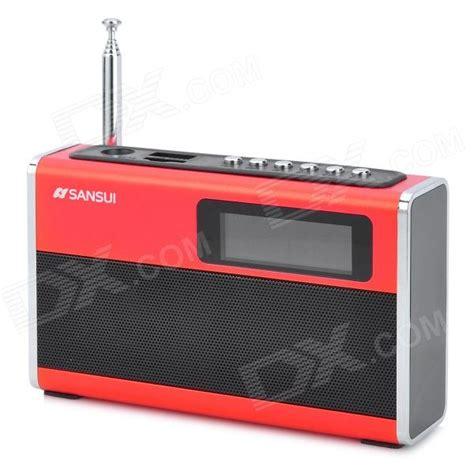 Speaker Mini Sansui sansui d20 portable 1 6 quot led mini speaker w fm radio tf