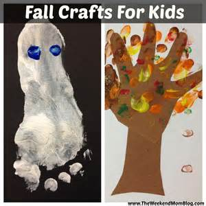crafts for fall fall craft ideas for the weekend