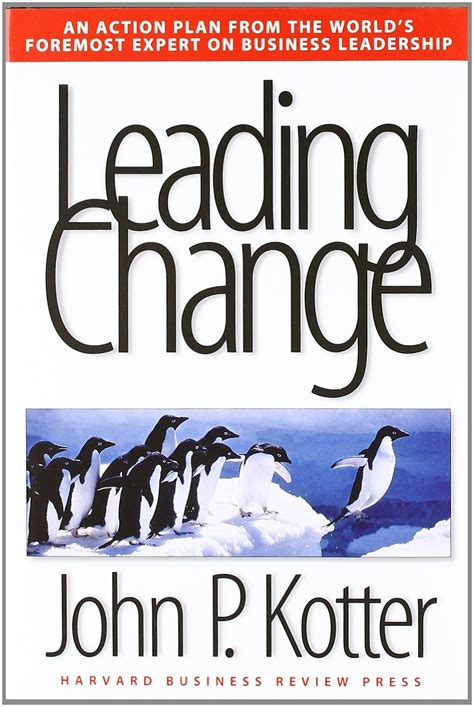 leading change with a book of the week leading change changecom