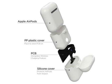 airplus airpods case  wireless charging gadgetsin