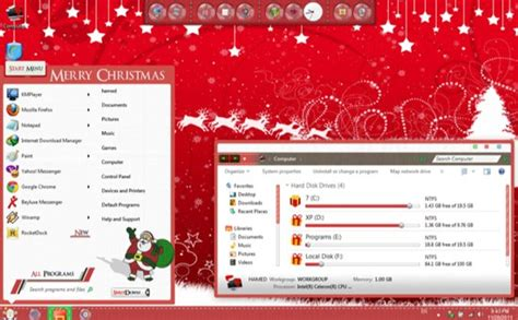 christmas themes windows 7 free download best windows 7 christmas themes download