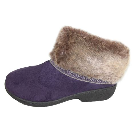 isotoner house shoes womens womens low cut boot slipper by totes isotoner slippers women s slippers at