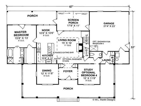cottage open floor plan country home floor plans country homes open floor plan