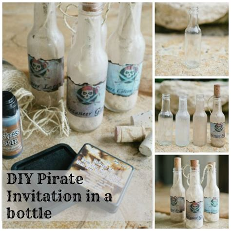 Apps For Decorating Your Home How To Make A Pirate Party Invitation In A Bottle Trophy