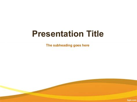 business powerpoint presentation templates free business
