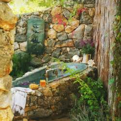 This post wouldn t be complete without a dreamy outdoor bohemian bath
