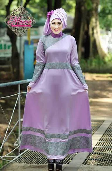 Baju Muslim Wanita Simple model busana muslim wanita simple untuk kondangan terbaru
