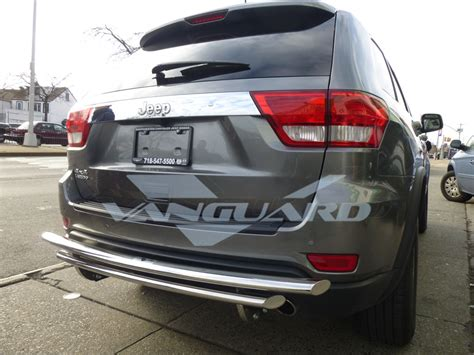 jeep grand cherokee rear bumper vanguard 11 17 jeep grand cherokee rear bumper protector