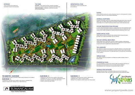 layout plan of noida extension shri radha sky gardens noida extension greater noida