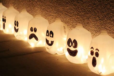 kids halloween craft cute ghost milk jug easy halloween crafts for kids ifamilykc blog
