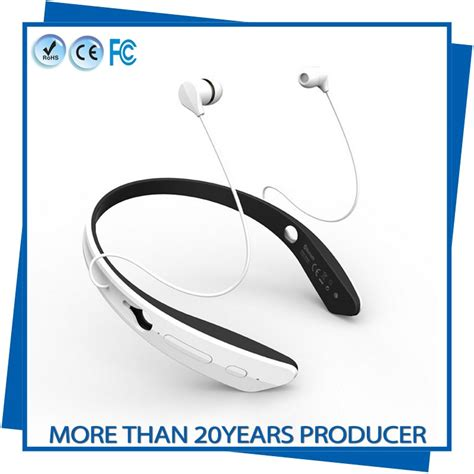 Headset Bluetooth Oppo White high end multipoint stereo large bluetooth
