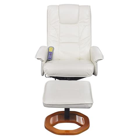 electric massage couch vidaxl co uk electric artificial leather massage chair