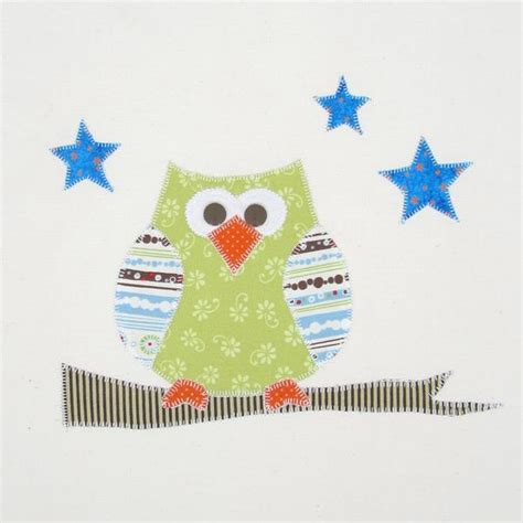 Owl Applique Template by You To See Quot Owl Quot Applique Template On Craftsy
