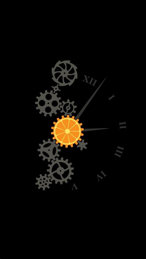 clock minimalism image wallpaper