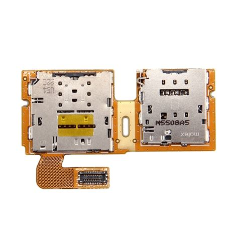 Samsung Tab 2 Sim Card replacement for samsung galaxy tab s2 9 7 t815 sim micro sd card reader contact flex cable