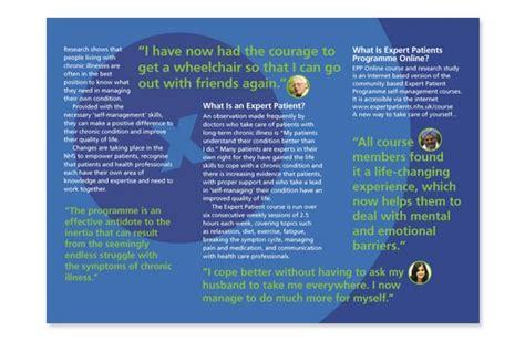 layout of patient information leaflet graphic design nhs leaflet 2 annette peppis