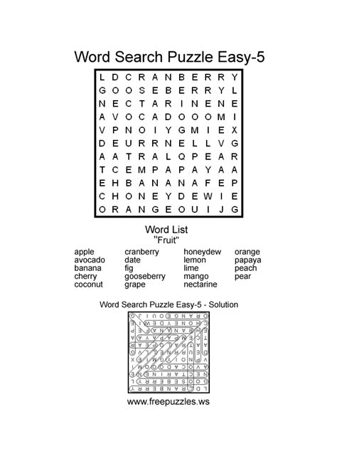 easy printable word search puzzles free easy printable word finds pictures to pin on pinterest