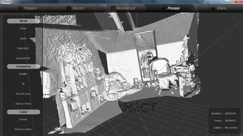 3d room scanner 3d scan with skanect by geoffrey marchal 3d artist