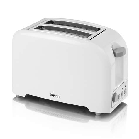 Swan Toaster B M Gt Swan 2 Slice Toaster White 2864043