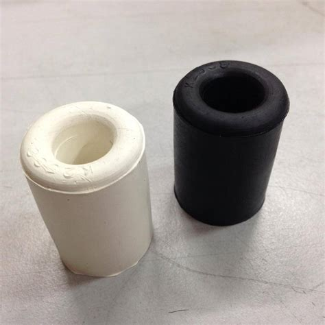 Rubber Black White rubber stopper in white black rubber products seales
