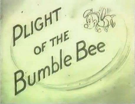 plight of the bumble bee: un cartone cancellato