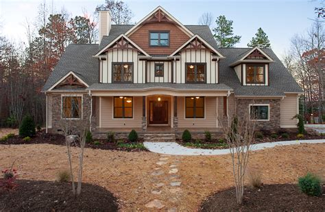 craftsman style exterior lighting craftsman homes mooresville custom home builder