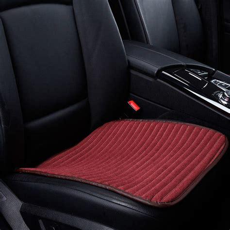 tissu siege auto coussin couvre si 232 ge voiture chaise tissu doux 46x46cm 5