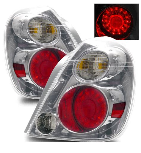 Secondtail Light Led Chrome Light For Nissan Juke 2002 2006 nissan altima style led lights chrome