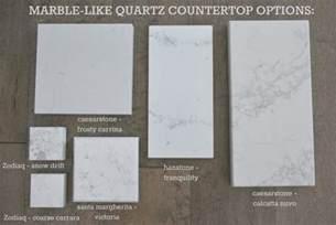 Good Quartz Vs Granite Counter Tops #7: Marble-lookalike-quartz-countertop-options-via-the-sweetest-digs.jpg