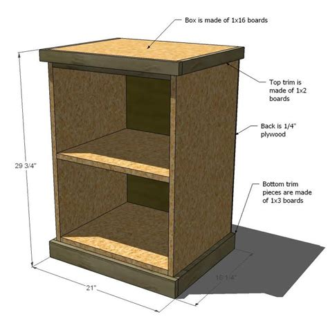 File Cabinet Plans by Wooden Diy File Cabinet Plans Pdf Plans