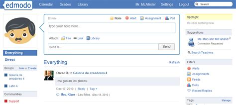 edmodo home augmenting research with edmodo tech 4 practice