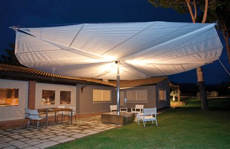 Sail Awnings for Patio by Corradi