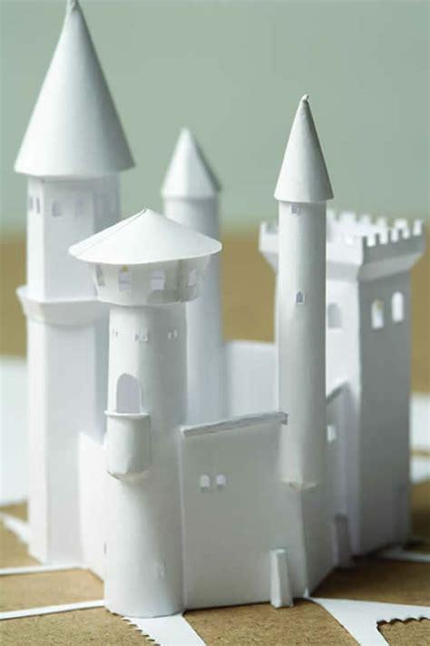 How To Make Paper Castle - transformations bioephemera