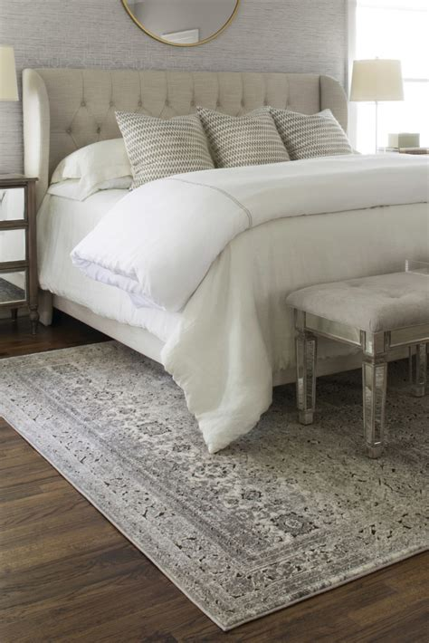 area bedding 5 ways to choose the perfect bedroom rug overstock com