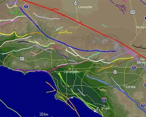 california map fault lines southern california fault lines map palmdale ca mappery