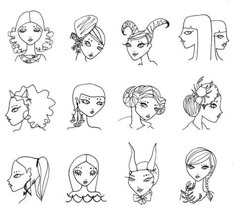 doodle meaning faces zodiac doodles the magnificent zodiac