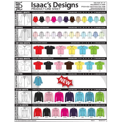 line sheets template best photos of product line sheet template wholesale