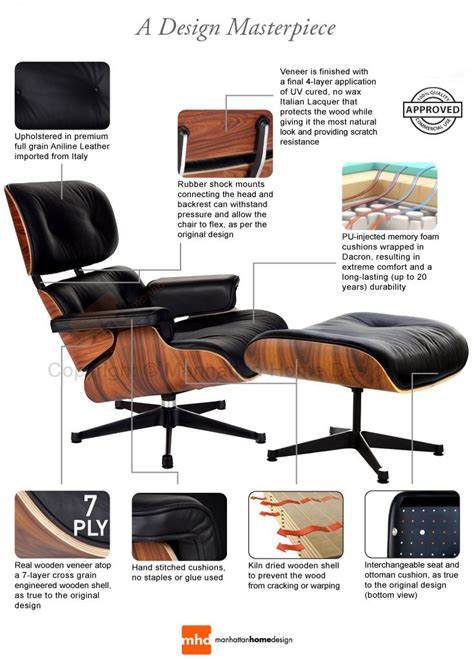 Eames Lounge Chair Reproduction by 25 Best Ideas About Eames Lounge Chairs On
