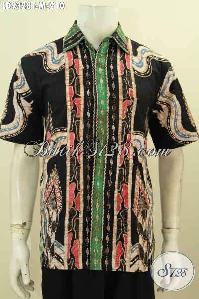 Kemeja Pria Motif Batik Fero kemeja batik pria muda hem lengan pendek motif keren proses tulis desain terkini bisa buat
