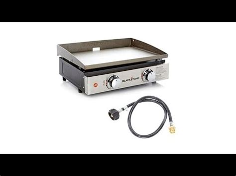 blackstone portable outdoor 22 table top gas griddle with