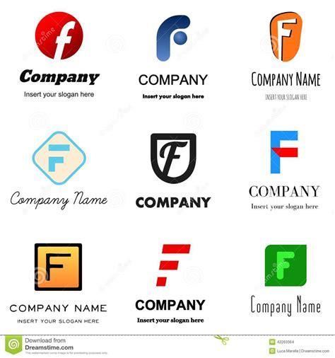 logo de logo de la lettre f illustration stock illustration du