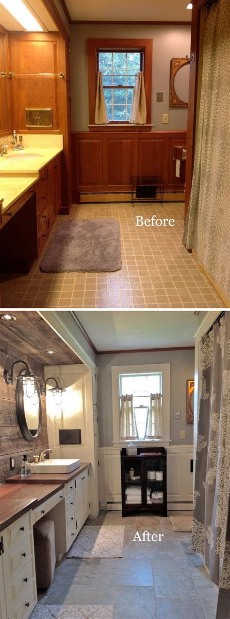 interesting farmhouse renovation ideas with pictures before and after 20 amazing bathroom makeovers noted list