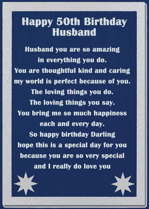 messages to husband image result for 50th birthday messages for my husband