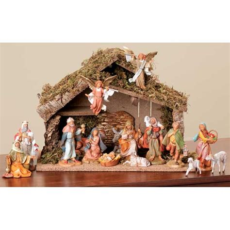 where to buy fontanini nativity sets best 28 nativity pieces nativity set with stable